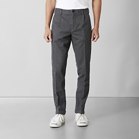 Bailey Tapered Chinos Grå | East West | Brothers.se