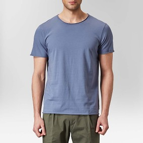 Vanity T-shirt Blå | The Tailoring Club | Brothers.se