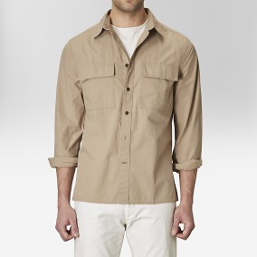 Ryan Skjortjacka Beige | The Tailoring Club | Brothers.se