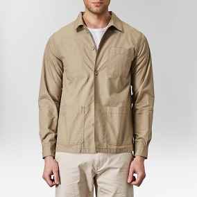 Ridley Ripstop Skjortjacka Beige | Riley | Brothers.se
