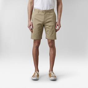 Bowery Shorts Khaki | East West | Brothers.se