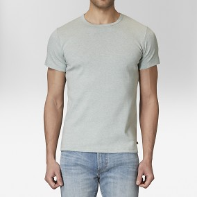 T-shirt O-neck Grön | East West | Brothers.se