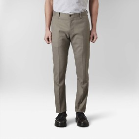 Stanton Twill Stretch Kostymbyxor Grön 5 | Riley | Brothers.se