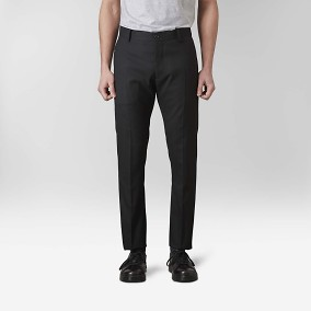 Stanton Twill Stretch Kostymbyxor Svart 5 | Riley | Brothers.se