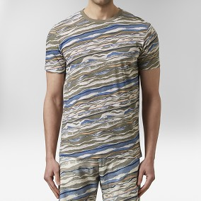 Roma T-shirt Multi | Riley | Brothers.se
