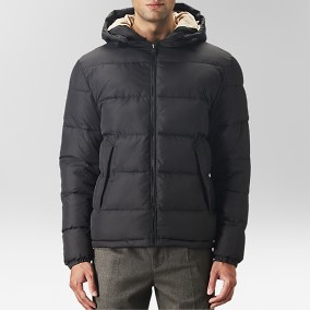 Collins Puffer Jacka Svart | East West | Brothers.se
