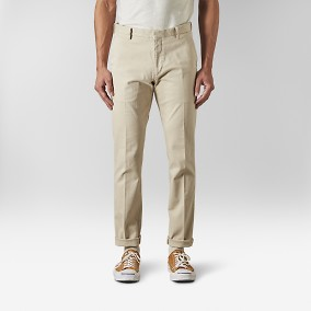 Eno Bomullsbyxor Beige | Riley | Brothers.se
