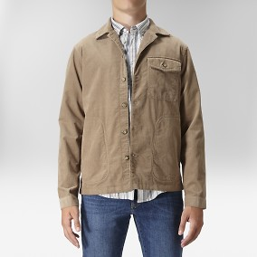Easton Skjortjacka Manchester Beige | East West | Brothers.se
