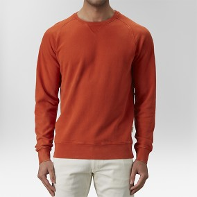 Vernon Sweatshirt Tröja Röd | The Tailoring Club | Brothers.se