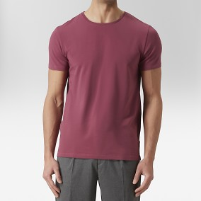 Holborn T-shirt Lila | Riley | Brothers.se