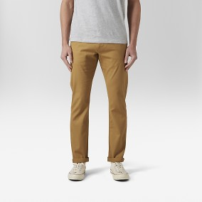 Baxter Dobby Chinos Gul | East West | Brothers.se