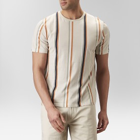 Paul Randig T-shirt Beige | East West | Brothers.se
