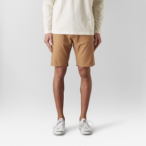 Bowery Chinos Short Orange | East West | Brothers.se