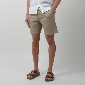 Lazy Shorts Beige | East West | Brothers.se