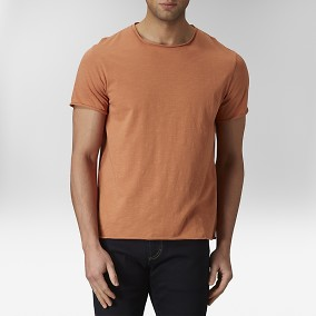 Pugh T-shirt Orange | East West | Brothers.se