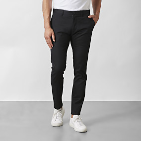 Byxa Stanton Twill Stretch Svart | Riley | Brothers.se