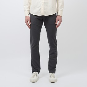 Bowery Twill Chinos Grå | East West | Brothers.se