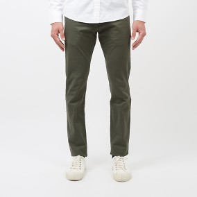 Bowery Twill Chinos Grön | East West | Brothers.se