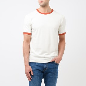 Veine T-shirt Offwhite | East West | Brothers.se