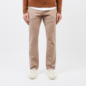 Baxter Flanell Chinos Beige | East West | Brothers.se