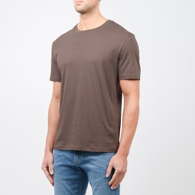 Max T-shirt Brun | East West | Brothers.se