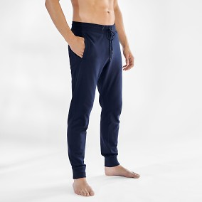 Lounge Pant Blå   Bread & Boxers   Brothers.se
