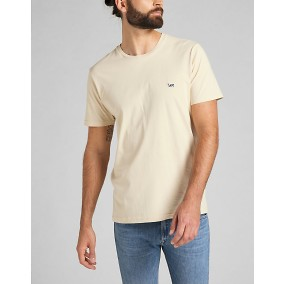 Patch logo Tee T-shirt Beige | Lee | Brothers.se