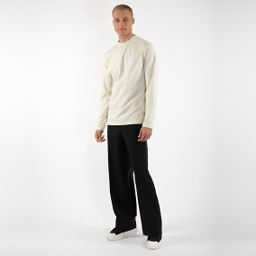 Long Sleeve Tee Offwhite | Ljung | Brothers.se