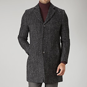 Rock Wolger 77 Rock Wool Coat | J. Lindeberg | Brothers.se