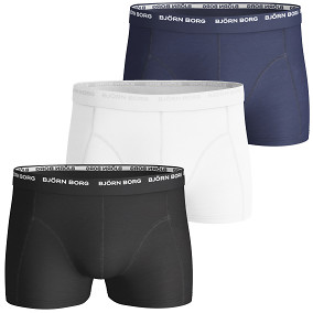 3-PACK BASIC SHORT BOXERS