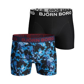 Branch Sammy Shorts 2-pack blå | Björn Borg | Brothers.se