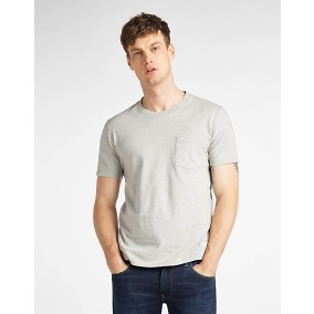Sustainable T-shirt Grå | Lee | Brothers.se