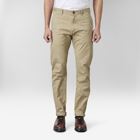 Baxter Chinos Beige 2 | East West | Brothers.se