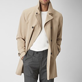 Shelby Trenchcoat Beige | Riley | Brothers.se