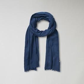 Keane Blå Scarf | East West | Brothers.se