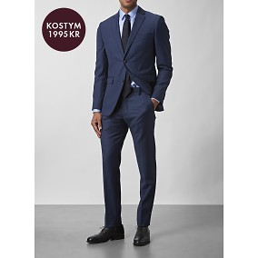Shelby Wool Twill Kostym Blå   Riley   Brothers.se