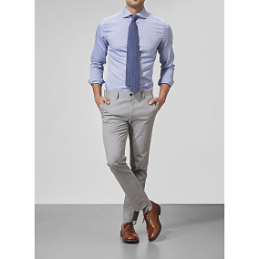Stanton Cotton Trousers Look | Riley | Brothers.se