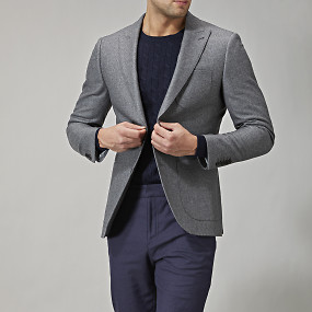 SHELBY PEAK WOOL BLAZER