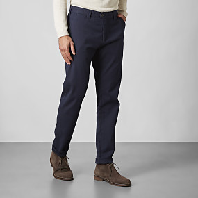 Bowery winter cotton chinos blå