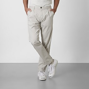 Bailey tapered chinos beige