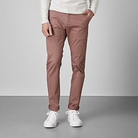 Bowery stretch chinos vinröd