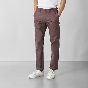 Baxter stretch chinos röd