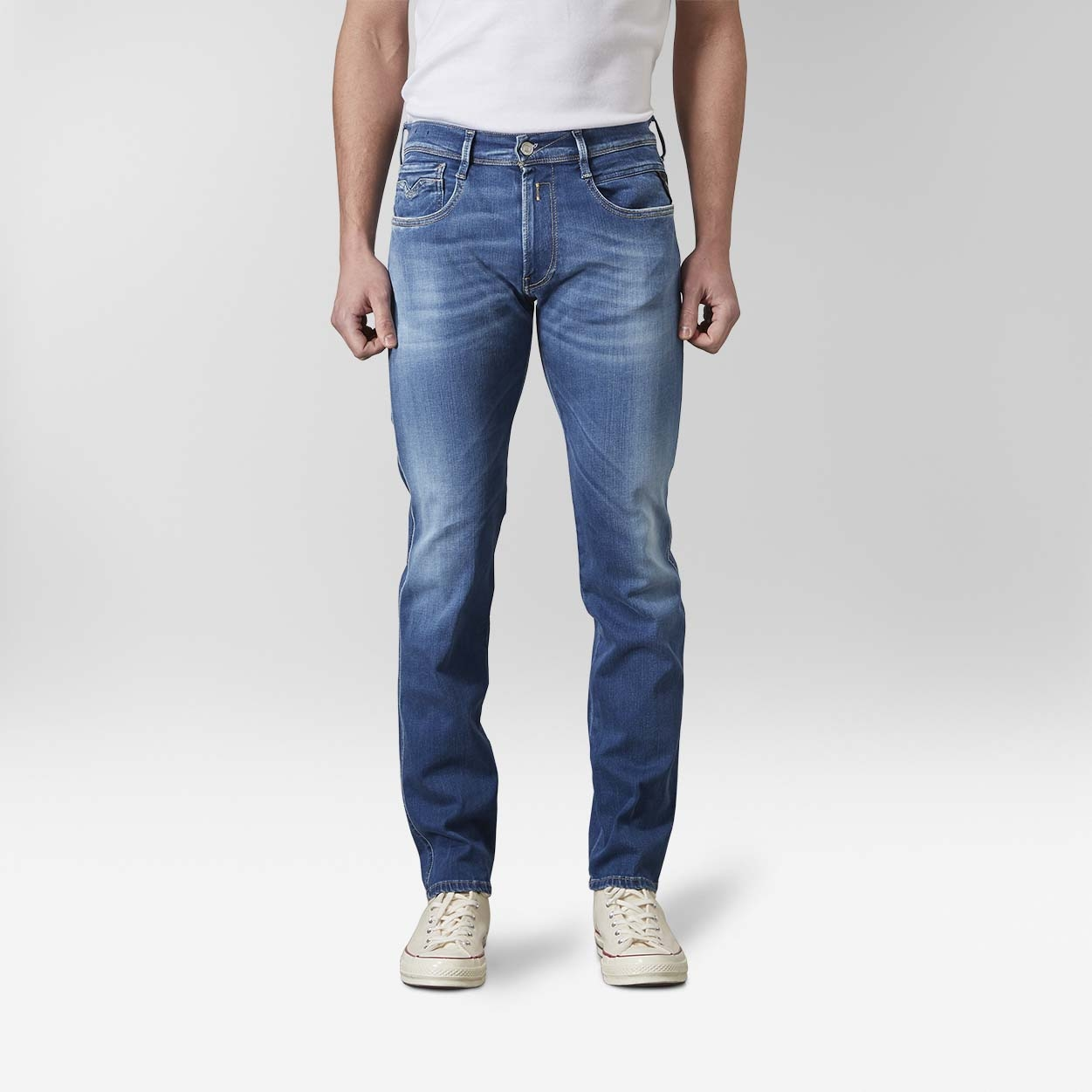 Replay M914 909 Anbass Pants Jeans Denim