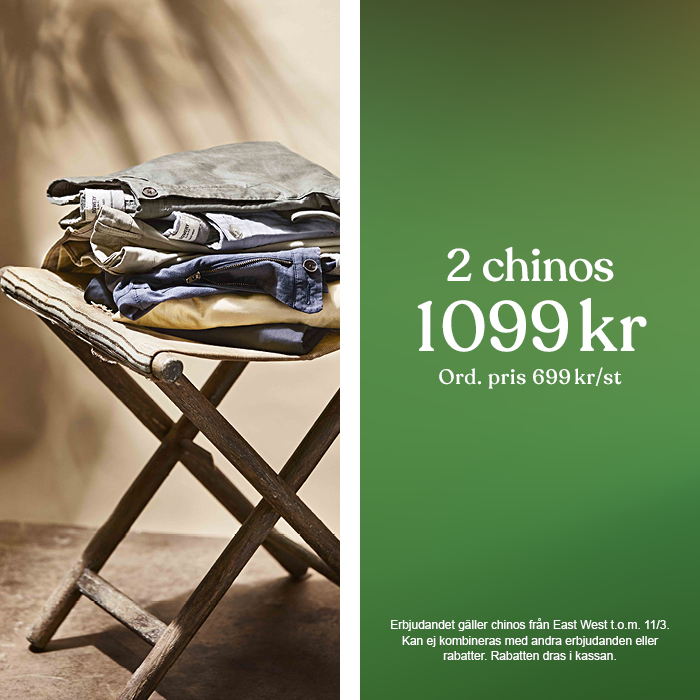 Wildlife in a Brothers World - 2 chinos 1099 kr