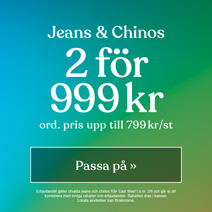 Jeans & Chinos 999 kr