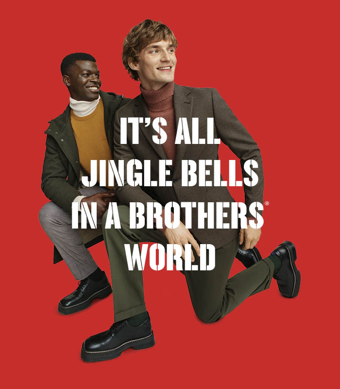 It's all jingle bells in a brothers world